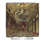 St. Georges Hall, Windsor Castle Shower Curtain