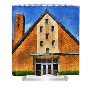 St Gerard's Catholic Church Shower Curtain