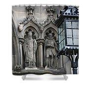 St Giles Church Statues 6600 Shower Curtain