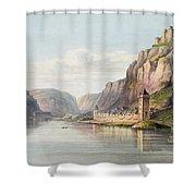St. Goarshausen, St. Goar Shower Curtain
