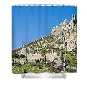 St Hilarion Castle Shower Curtain