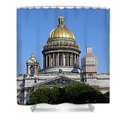 St Isaacs Cathedral Shower Curtain