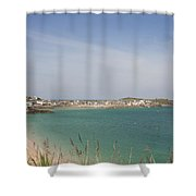 St Ives From The Train Shower Curtain