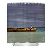 St Ives In Cornwall Shower Curtain