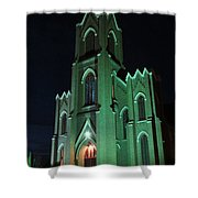 St James Catholic Church In Vancouver Washington Shower Curtain