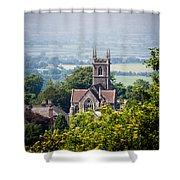St James Church Shaftesbury Shower Curtain