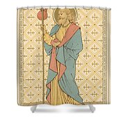 St James The Great Shower Curtain by English School