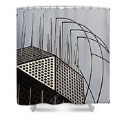 St. Joan Sculpture Shower Curtain