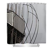 St. Joan Sculpture Vertical Shower Curtain