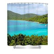 St John Beach Shower Curtain