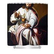 St John The Evangelist Shower Curtain
