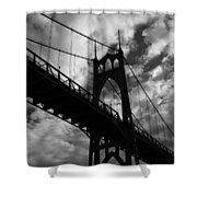 St Johns Bridge Shower Curtain