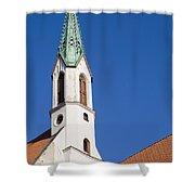 St. John's Church Riga Shower Curtain
