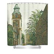 St Johns Church Wapping From Scandrett Street Shower Curtain