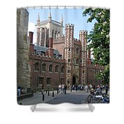 St. Johns College Cambridge Shower Curtain