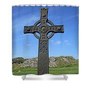 St John's Cross Shower Curtain
