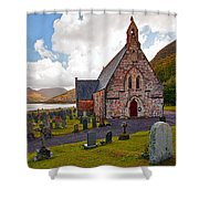 St  Johns Episcopal Ballachulish Shower Curtain