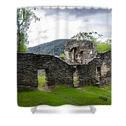 St. John's Episcopal Church Ruins  Harpers Ferry Wv Shower Curtain