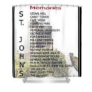 St. John's Memories Shower Curtain