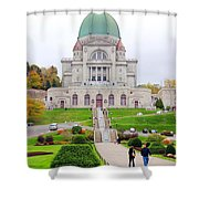 St. Joseph Oratory Shower Curtain