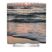 St Joseph Pastels Shower Curtain by Adam Jewell
