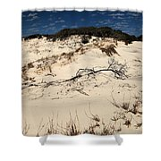 St. Joseph Sand Dunes Shower Curtain by Adam Jewell