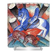 St Julian 1913 Shower Curtain