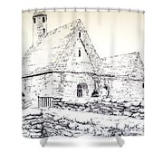 St Kevin's Shower Curtain