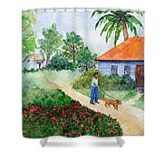 St Lawrence Gap Shower Curtain