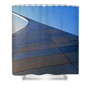 St. Louis Arch 2 Shower Curtain