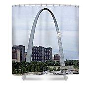 St Louis Arch Shower Curtain