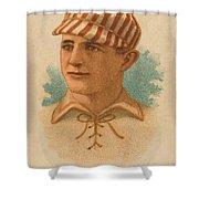 St. Louis Browns 1887 Shower Curtain