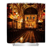 St. Louis Cathedral New Orleans - Textured Shower Curtain