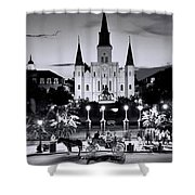 St. Louis Cathedral New Orleans Shower Curtain