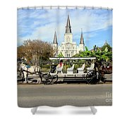 St Louis Cathedral New Orleans Shower Curtain