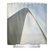 St. Louis - Gateway Arch 1 Shower Curtain