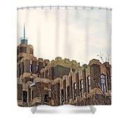 St Louis Mo Building Shower Curtain