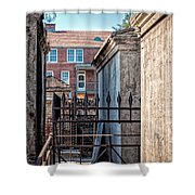 St Louis One And Iberville Shower Curtain