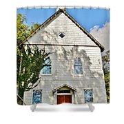 St. Luke African Methodist Episcopal Church - Ellicott City Maryland Shower Curtain