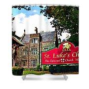 St Lukes Church Shower Curtain