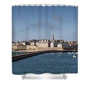 St Malo Shower Curtain