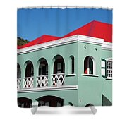 St Maratan  Shower Curtain