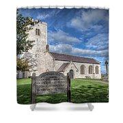 St Marcella's Church Shower Curtain