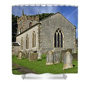 St Margaret's Church - Wetton Shower Curtain