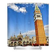 St Marks Square - Venice Italy Shower Curtain