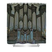 St Martins In The Field Organ Shower Curtain