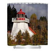 St. Martins Lighthouse Shower Curtain