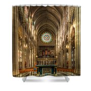 St. Mary Cathedral Basilica Of The Assumption Shower Curtain