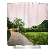 St. Marys Bridge Shower Curtain