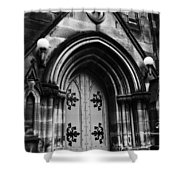 St Marys Cathedral Doors Shower Curtain